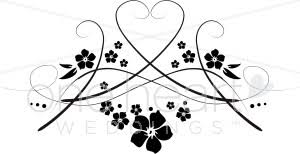 Wedding Program Designs Wedding Program Design Clipart