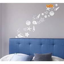 whole beach themed room decor set of 30 fancy sea beach shell wall decals vinyl sea shell wall stickers wall decals for bedroom wall decals for bedrooms