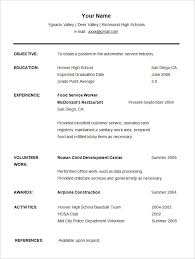 Student Resume Templates Extraordinary 28 Student Resume Examples High School And College Resume Format