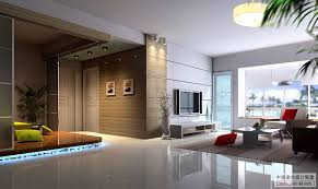 Amazing Contemporary Interior Design Modern Living Room Tv Wall
