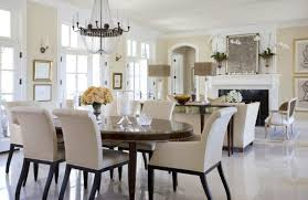Furniture  Photos Gallery Oval Shape Wooden Dining Table - Formal oval dining room sets