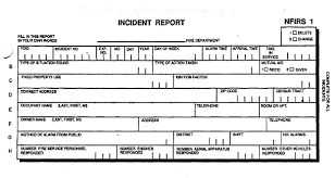 fire incident report form template fhwa traffic incident management program incident management