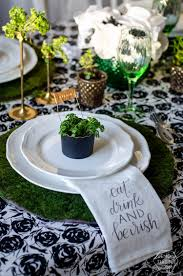 st pattys day home office decor. 22. Eat Drink And Be Irish Table Setting St Pattys Day Home Office Decor