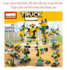 Lego robot biến hình Đồ chơi lắp ráp Lego Giá Rẻ Lego cảnh sát biến hình  chất lượng cao – Saffron minhhanh588