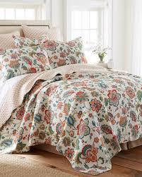 Risa Floral Luxury Quilt-Print-Quilts-Bedding-Bed & Bath | Stein Mart & Risa Floral Luxury Quilt Beige Adamdwight.com