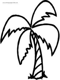 Small Picture Cute Jungle Tree Coloring Pages palm trees etc Pinterest