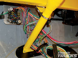 aftermarket wiring harness install hot rod network 12 circuit ez wiring harness at Ez Wiring 12 Circuit Diagram