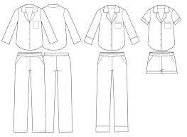 Pajama Shorts Pattern Interesting Inspiration Design