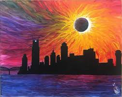 city eclipse
