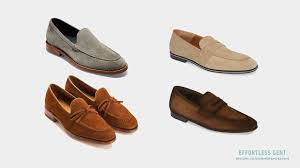 men s summer shoes 5 pairs worth considering for spring and summer unlined suede loafer