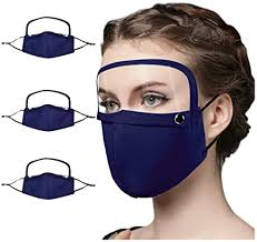 Dittodom Adults Integrated <b>Face Mask Dustproof Anti-Fog</b> Face ...