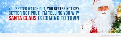 santa claus is coming to town quote
