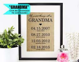 grandma gift personalized gift for grandma gifts for grandma from granddaughter nana gift for grandmother gift sign