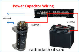 audio capacitor wiring how to install a power capacitor radiodashkits car stereo teilen mit twitter · facebook Â