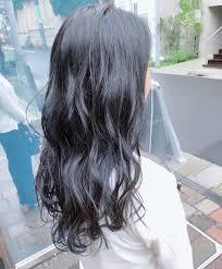 120の透明感 暗めな髪色はブルーブラックがイチオシなの2019