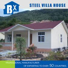 Foldable Houses Steel Structure Villa China Foldable Design Waterproof