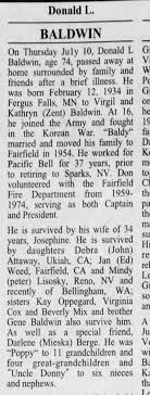 Donald Baldwin Obit - Newspapers.com