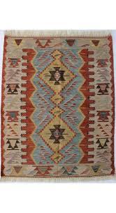 turkish kilim rug usak 3 x 3 8 feet