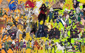 Naruto Characters Wallpaper (Page 1 ...