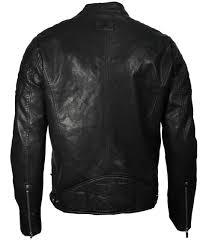 top men s vegan leather hooded racer jacket