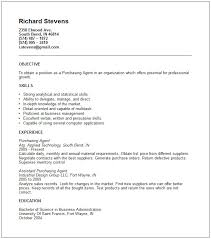 Purchase Agent Cover Letter Sarahepps Com