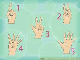 Sign Language Numbers 1 100 Chart How To Count To 100 In American Sign Language 13 Steps