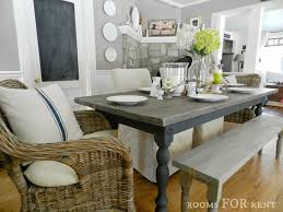 gray dining table. Grey Dining Room Bench Gray Table With New Tub Transfer G