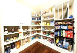 pantry shelf depth walk in shelving full size of ideas kitchen corner pantry shelf depth