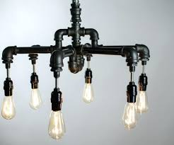 etsy industrial lighting. Lighting : Etsy Industrial Chandelier Edison Bulb Lowes Lamp Square Metal Table Legs Bar Pipe Stools I