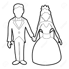 Wedding Icon Outline Illustration Of Wedding Vector Icon For