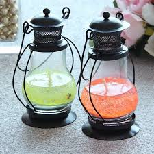 lantern gel candle wedding favors