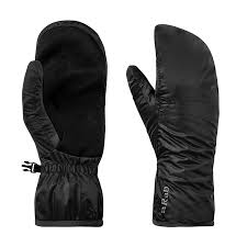 Rab Glove Size Chart Rab Xenon Mitt Black