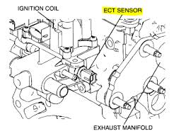 mazda 6i i have a 2004 mazda 6i 4cyl 2 3 engine where is here is a better view of the sensor sorry took me a while to it if the sensor is causing the code this is the one you want to replace
