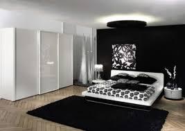 Modern Black Bedroom Bedroom Modern Black White Bedroom Ideas With Black Fabric Plain