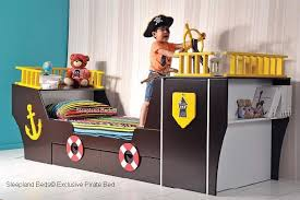 kids beds with storage boys. Exellent Storage Pirate Boat Bed Wardrobe Childrens Ship  Throughout Kids Beds With Storage Boys D