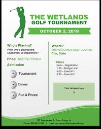Golf Tournament Flyer Template Free Golf Tournament Flyer Template Download Golf