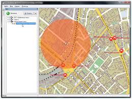 Контрольные точки и области Система мониторинга автотранспорта  Контрольная точка и контрольная зона