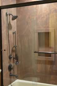 meta quartzite custom shower walls