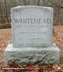 Van Blarcom family: Velma Fink Whitehead (1880 - 1949)