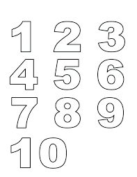 number templates 1 10 number templates to print free printable degree printable bubble