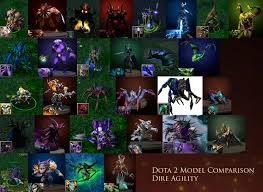 dota 1 vs dota 2 hero model comparisons lzuruha forums
