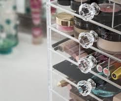 diverting acrylic large makeup organizer large capacity for acrylic makeup organizer with drawers
