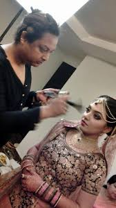 nazriya m wedding makeup