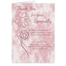 Thank You Note After Funeral To Coworkers Sympathy Thank You Notes To Coworkers Template Business