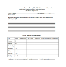 Production Reporting Templates Production Report Template 9 Free Word Pdf Documents Download