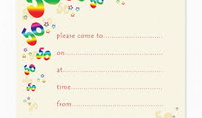Free Printable 50th Birthday Invitations Blank 50th Birthday