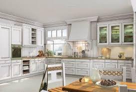 oak cabinets painted whiteBeautiful Kitchen With White Oak Kitchen Cabinets  SMITH Design