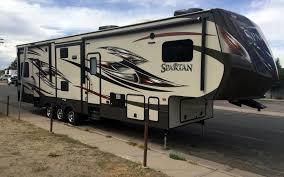 2016 prime time spartan 1234x toyhauler all seasons 5th wheel rv trailer cer in