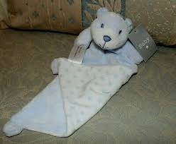 matalan blue white teddy bear stars