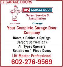 ez garage doorsEZ Garage Door  Garage Door Services  Phoenix AZ  Phone Number